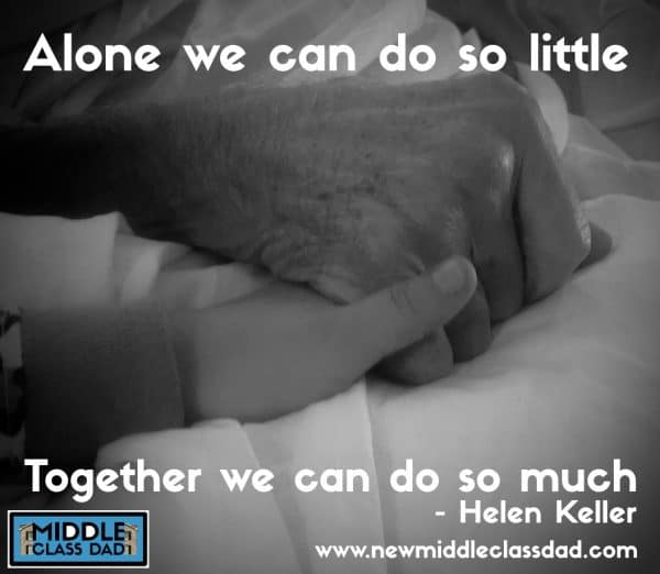 fatherhood-challenges-Helen-Keller-Quote-middle-class-dad