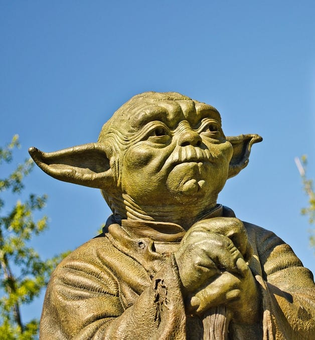 benefits of facing your fears Middle Class Dad Yoda statue