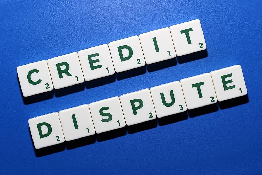 credit report repair credit dispute sign Middle Class Dad