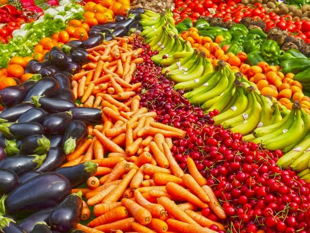 how to reduce cholesterol levels naturally colorful vegetables on display middle class dad