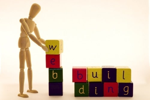 how to build a website from scratch website building blocks middle class dad