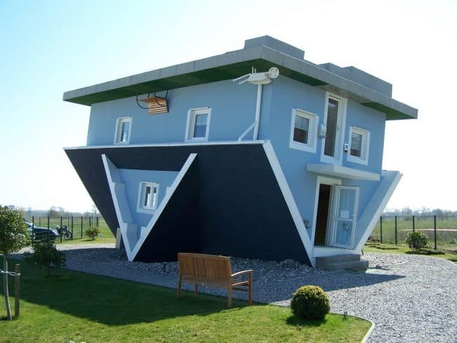 upside down house steps to buying a house for the first time Middle Class Dad