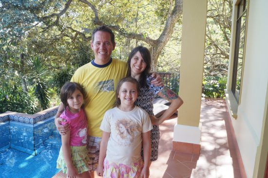 benefits of facing your fears Middle Class Dad Campbell family in Atenas, Costa Rica