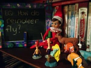 elf on the shelf mischievous ideas Middle Class Dad Elf on the Shelf teaching other smaller toys