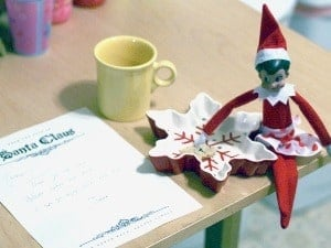 elf on the shelf mischievous ideas Middle Class Dad Elf on the Shelf leaving a note before flying home for the season