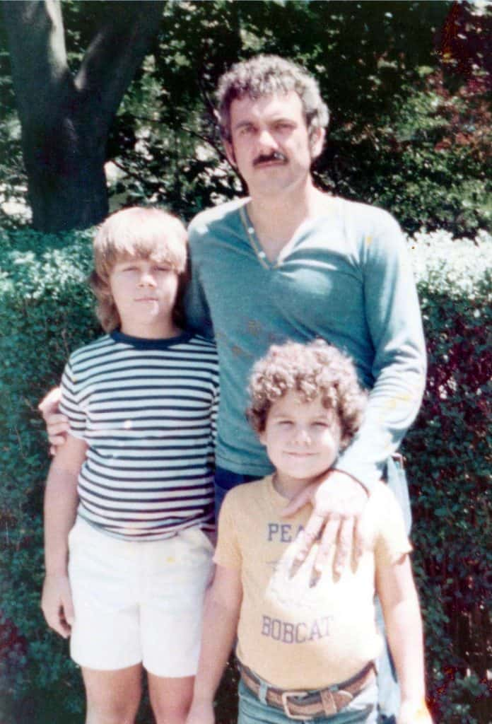 let go of past hurts middle class dad Garvin family pic
