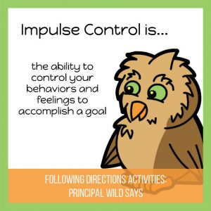 principal wild impulse control game Middle Class Dad bio Social Emotional Learning Games