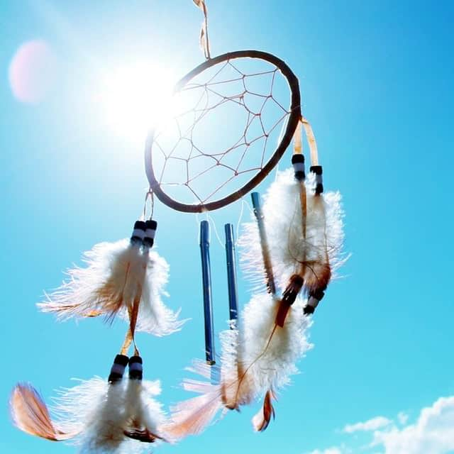 keys to financial freedom Middle Class Dad a dream catcher with a bright blue sky in the background on a sunny day