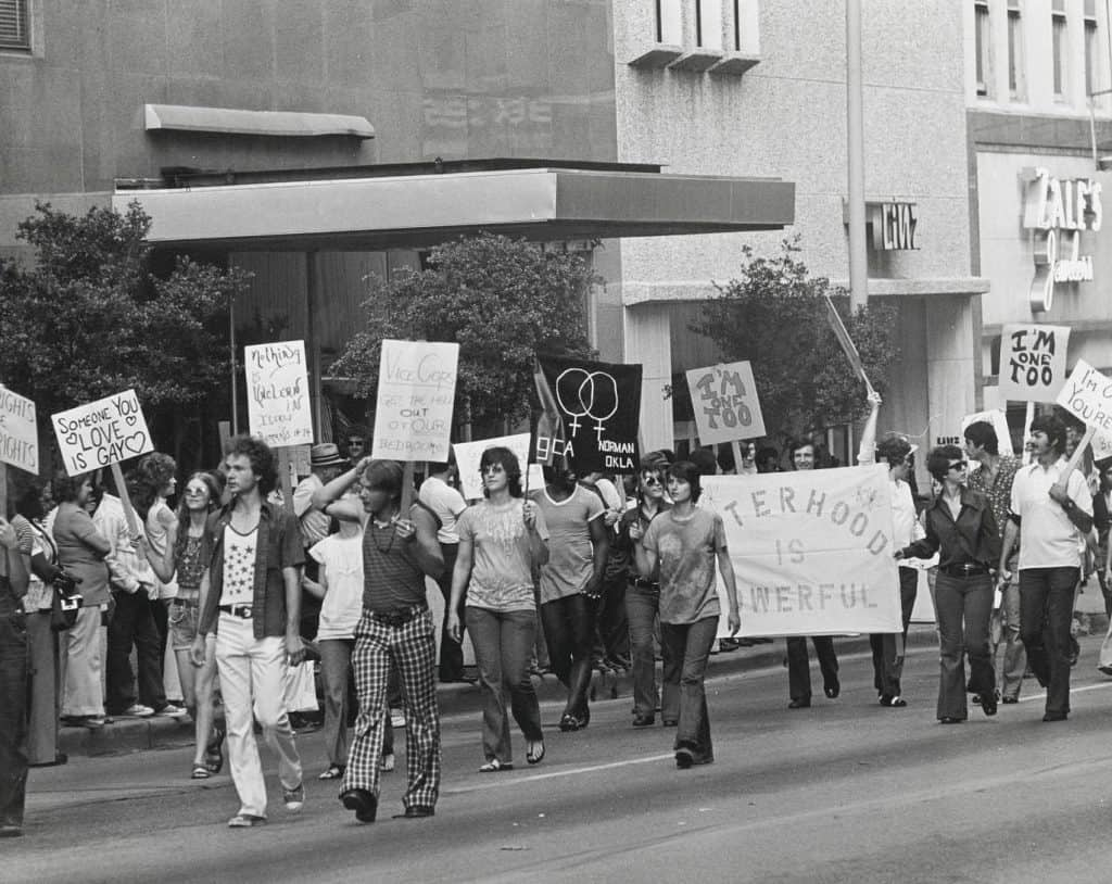 Gay Father Dallas Gay Pride March 1972 - Middle Class Dad blog