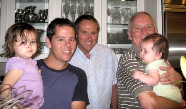 gay father Middle Class Dad Campbell Family and grandfathers JT Campbell Jr and Tom Duke
