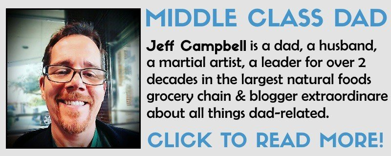 Jeff Campbell Middle Class Dad bio stop living paycheck to paycheck tips