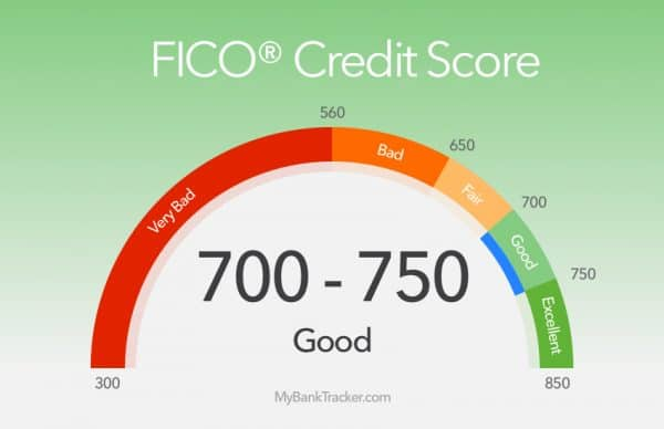 FICO score good to bad score chart how to increase credit score to 800 & boost credit score overnight Middle Class Dad