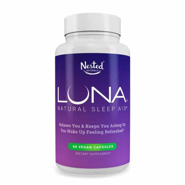 effects of sleep deprivation on students Nested Naturals Luna Natural Sleep Aid Middle Class Dad