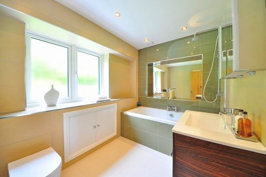 bathroom renovation costs middle class dad orange and green modern bathroom