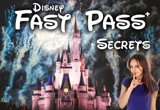 Disney World castle with fireworks FastPass+ secrets Middle Class Dad