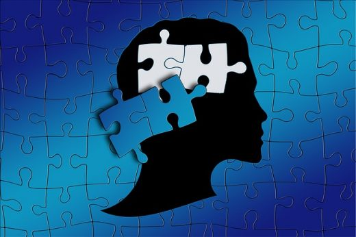 autism statistics worldwide blue puzzle of head with puzzle pieces falling out Middle Class Dad