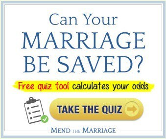 Financial marriage counseling Mend the Marriage quiz ad Middle Class Dad