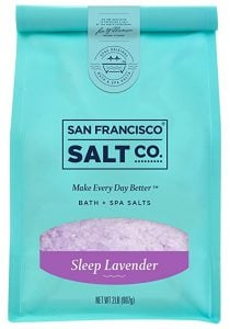 Middle Class Dad sleep apnea cures without a CPAP San Francisco Salt co sleep lavender bath salts