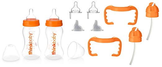 Middle Class Dad best sippy cups for breastfed babies thinkbaby bottle transition kit set