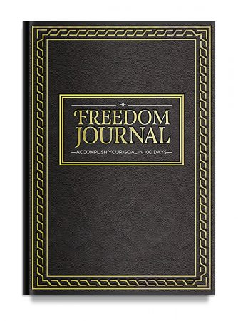 keeping New Year's resolutions The Freedom Journal - The Best Daily Planner to Accomplish Your #1 Goal in 100 Days - Increase Productivity & Time Management - Hardcover, Non Dated - 1 Year Guarantee Middle Class Dad