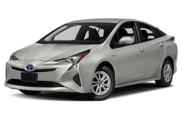 least expensive cars to insure for teenage drivers Toyota Prius white Middle Class Dad