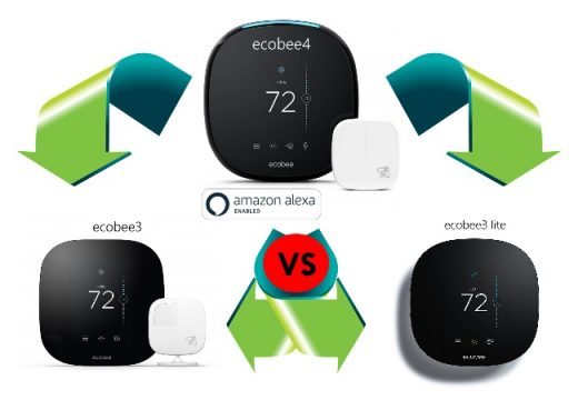 ecobee4 smart thermostat Middle Class Dad ecobee3 vs 4 vs ecobee3 Lite