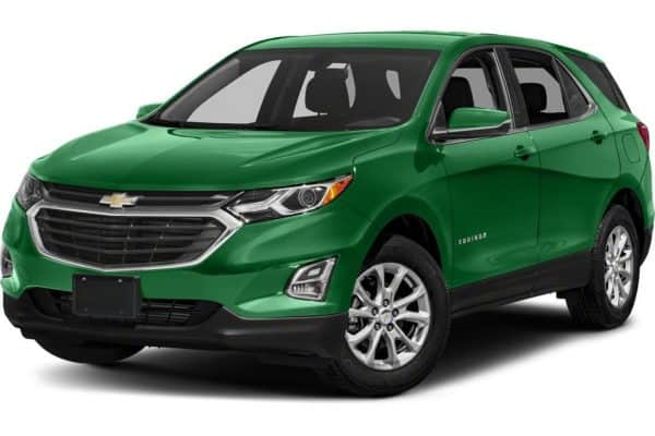 least expensive cars to insure for teenage drivers Chevy Equinox green Middle Class Dad