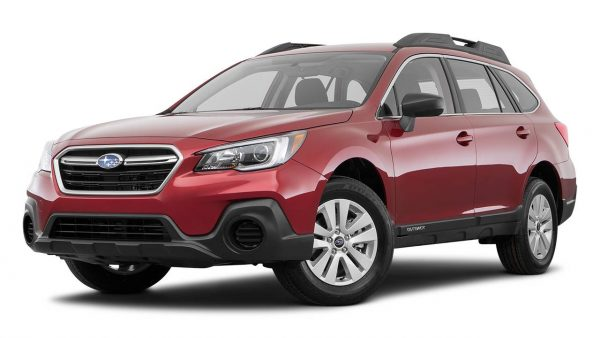 least expensive cars to insure for teenage drivers Subaru Outback red Middle Class Dad