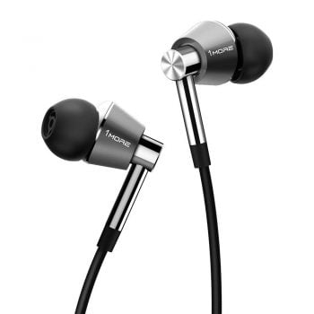 best earbuds under 150 1MORE Triple Driver in-Ear Earphones Middle Class Dad