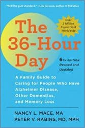 taking care of a husband with dementia Middle Class Dad The 36-Hour Day book banner