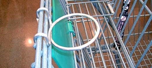 shopping cart coffee cup holder Middle Class Dad coffee cup holder clipped to a shopping cart