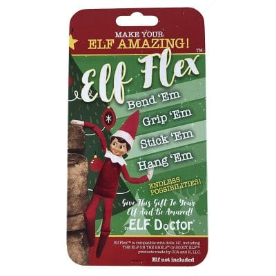elf on the shelf mischievous ideas Middle Class Dad ELF FLEX Elf on the Shelf Accessories Upgrade Kit by ELF DOCTOR: Perfect for your Elf on the Shelf Girl or Elf on the Shelf Boy - Make The Elf on the Shelf Doll Flexible and Bendable