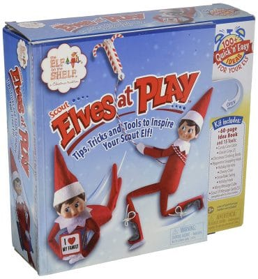 elf on the shelf mischievous ideas Middle Class Dad Elf on The Shelf Scout Elves at Play Kit